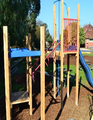 Timber & Steel playground